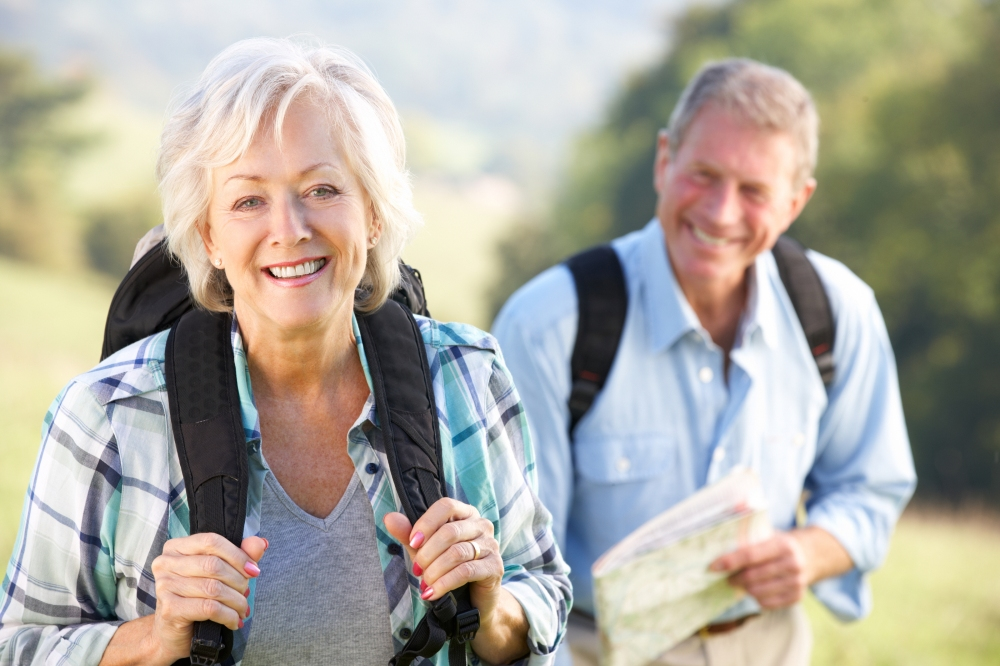 bigstock-Senior-couple-on-country-walk-34032203
